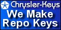 Chrysler Keys - Chrysler Locksmith Service